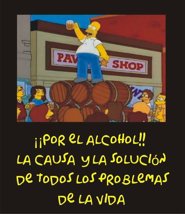 Por El Alcohol Frases De Borrachos Frases Divertidas Frases Graciosas