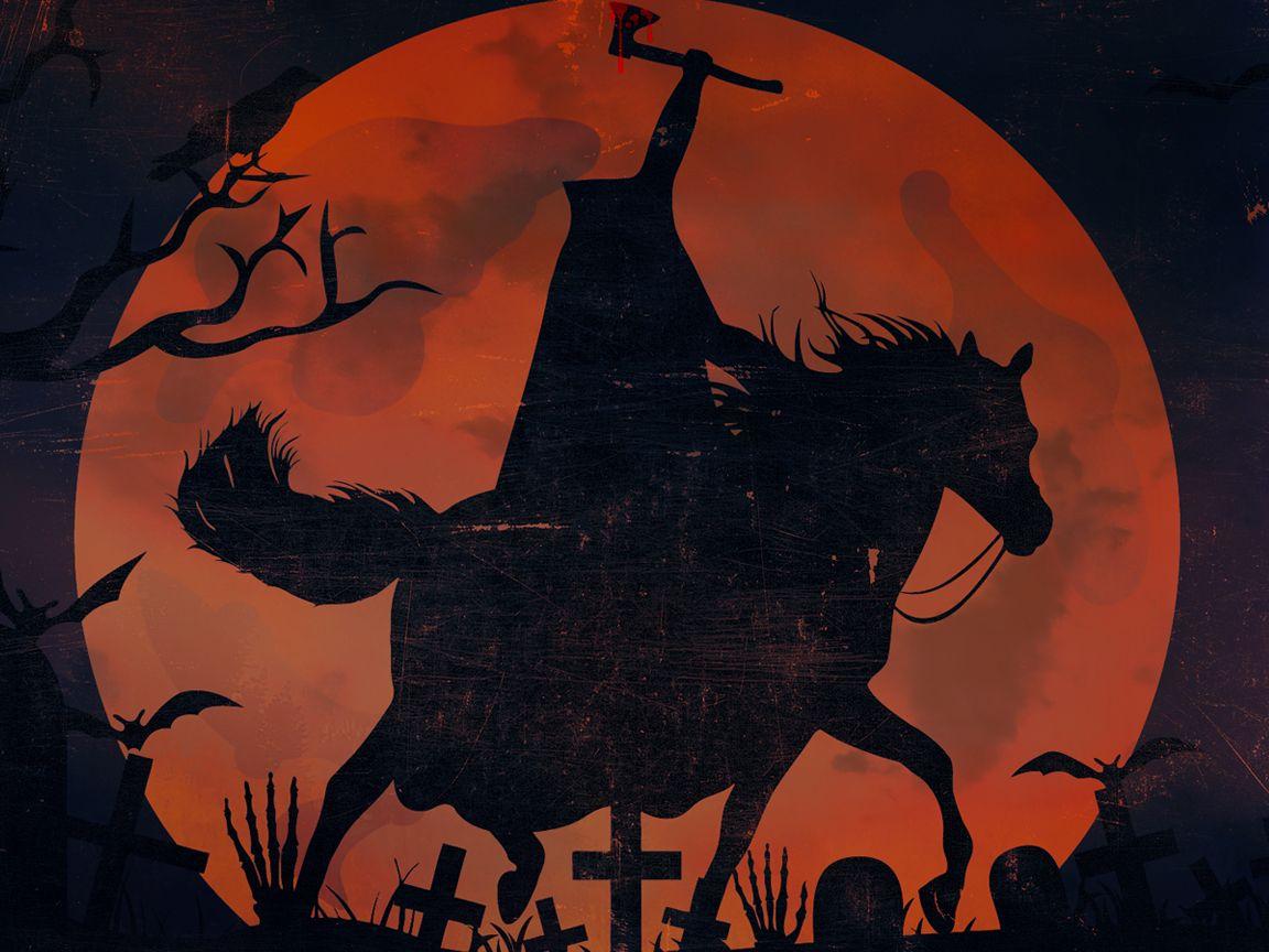 Headless Horseman Wallpaper Headless Horseman Wallpaper Sleepy Hollow Headless Horseman Sleepy