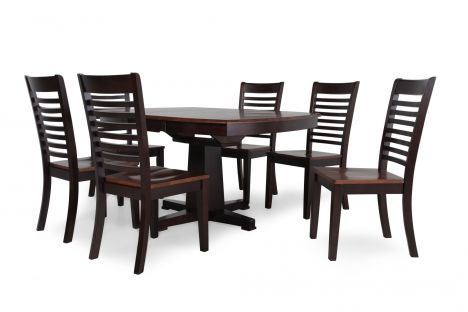 WIN DS4257CX/7PC   Winners Only Santa Fe 7 Piece Dining Set | Mathis