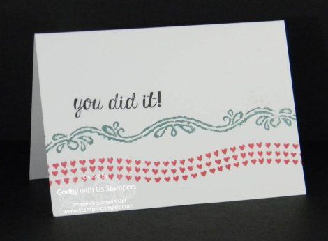 Carte Stampin Up.Stampin Up Chalk Lines Carte Stampin Up Stampin Up