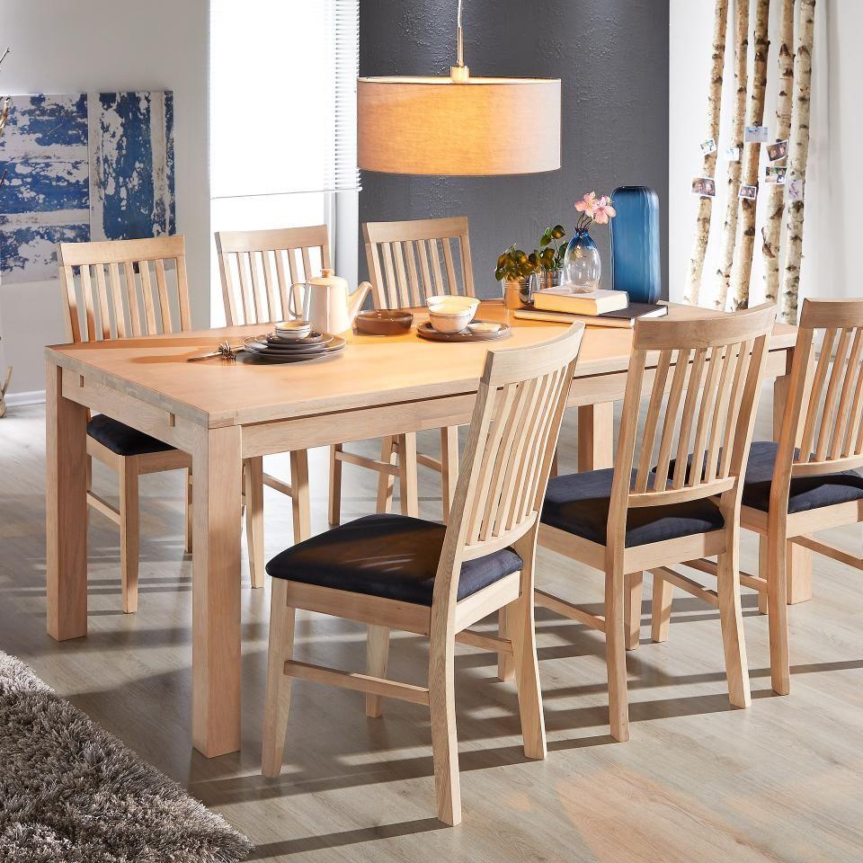 Esstisch Odense Nordic 95x185 Weiss Geolt Erweiterbar In 2020