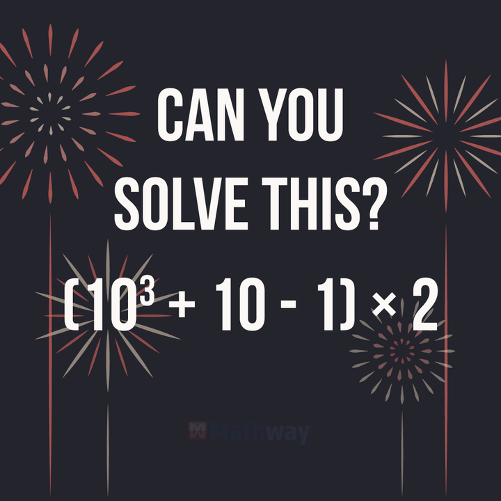 Start the new year off right. Use Mathway for all your math problem ...