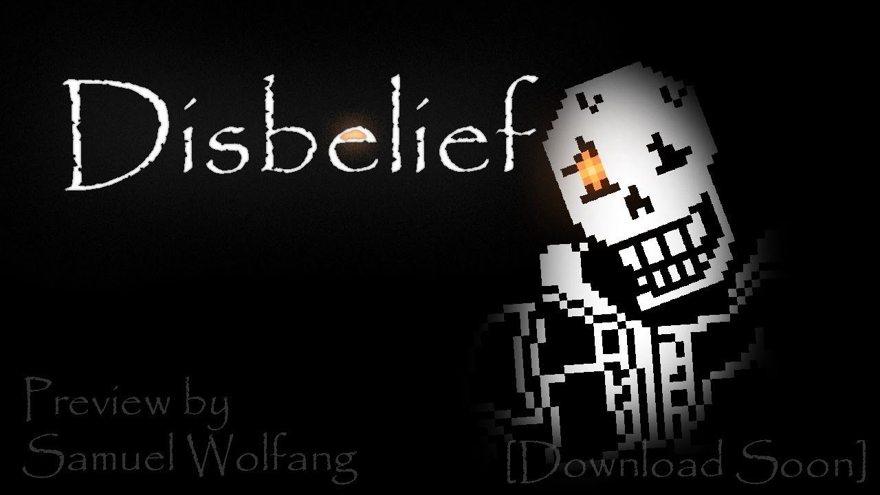 Disbelief Papyrus Battle - DEMO DOWNLOAD | undertale