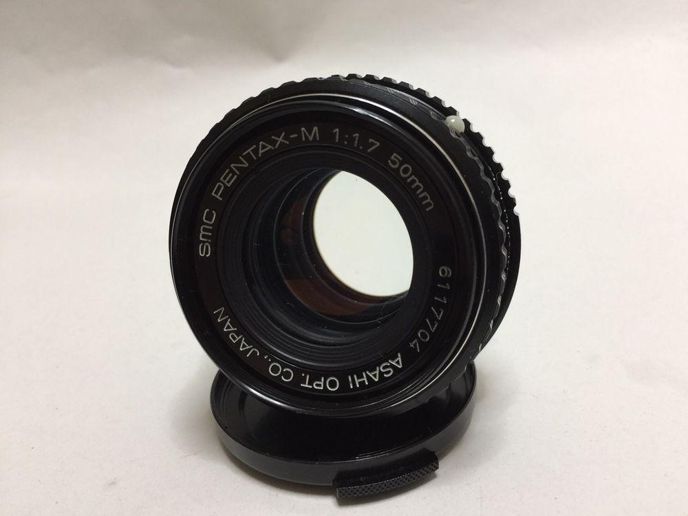 Near Mint Pentax Asahi Smc Smc Pentax M 50mm F 1 7 From Japan 39 Pentax