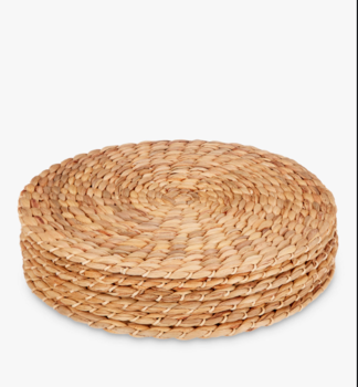 Water Hyacinth Round Placemats Natural Set Of 6 From Vietnam Buy Wood Round Placemats Placemats For Dining Table Placemat P Water Hyacinth Buy Wood Placemats