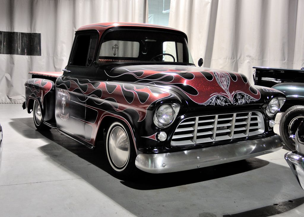 count's kustoms Counting cars, 57 chevy trucks, Custom