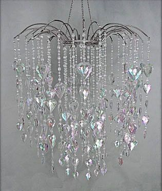 Check Out The Deal On Crystal Waterfall Hanging Chandelier At Battery Operated Candles