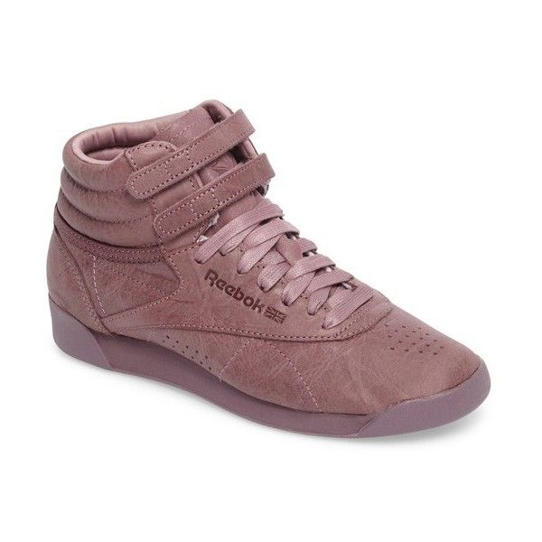 ed11fc69191 Women s Reebok Freestyle Hi Sneaker (115 CAD) ❤ liked on Polyvore featuring  shoes