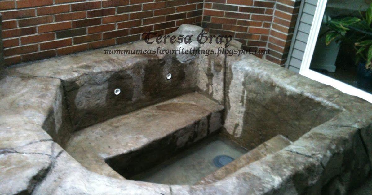 Natural Spa Hot Tub With Images Spa Hot Tubs Tub Hot Tub