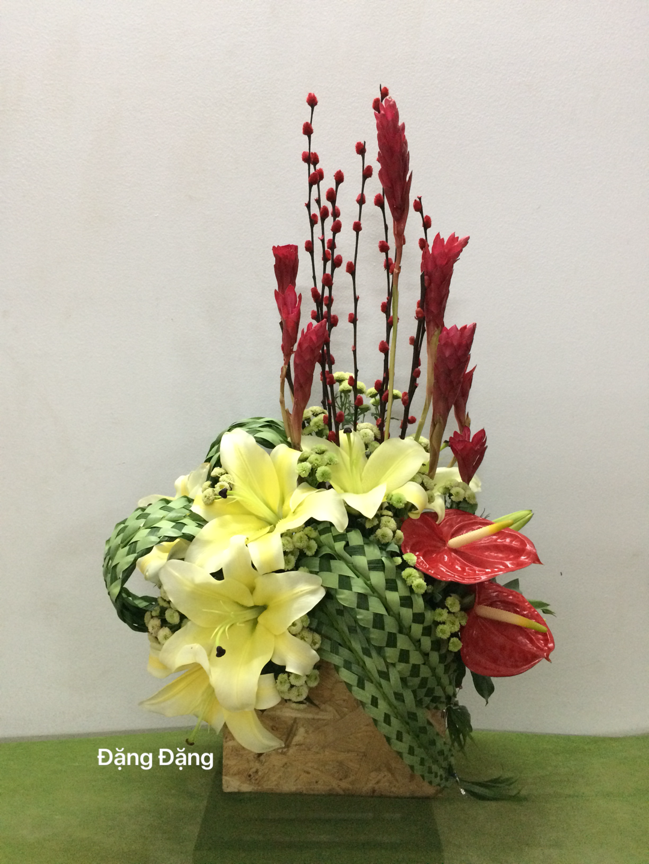 Pin Oleh Lena Pang Di Floral Rangkaian Bunga Altar Bunga