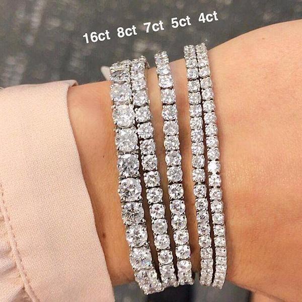 Diamond Tennis Bracelet Tennis Bracelet Diamond Diamond Bracelets Shiny Bracelets