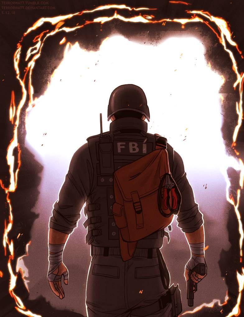 Thermite By Zaffyrr On Deviantart Rainbow Six Siege Art Rainbow