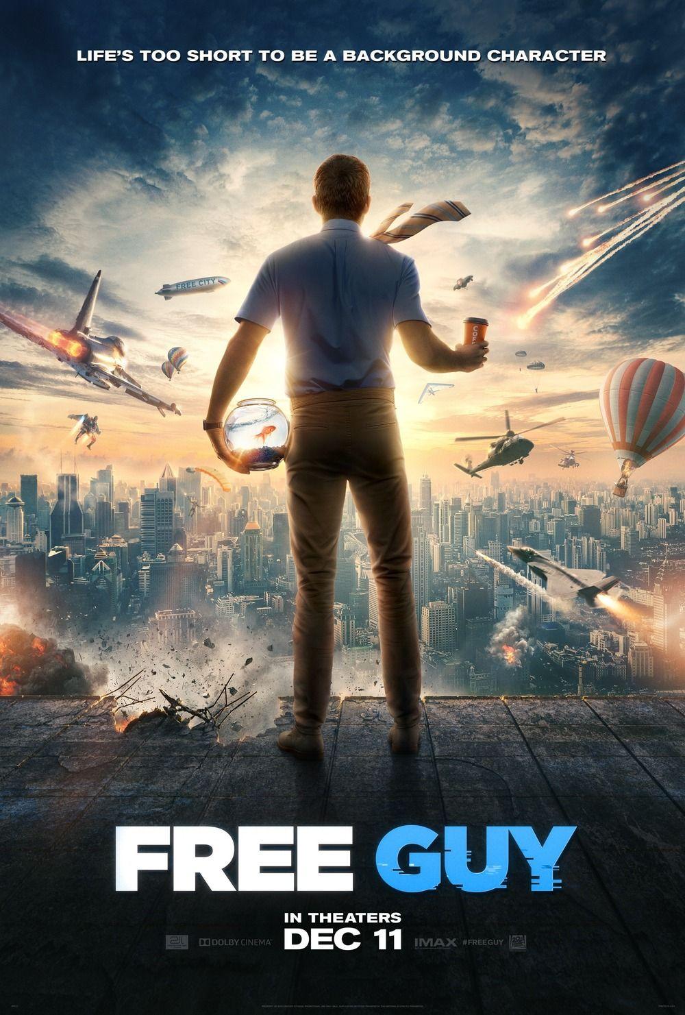 Free Guy Free Movies Online Full Movies Online Free Ryan Reynolds