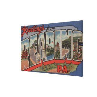 Lectura, Pennsylvania - escenas grandes 2 de la le Impresiones En Lona Estiradas