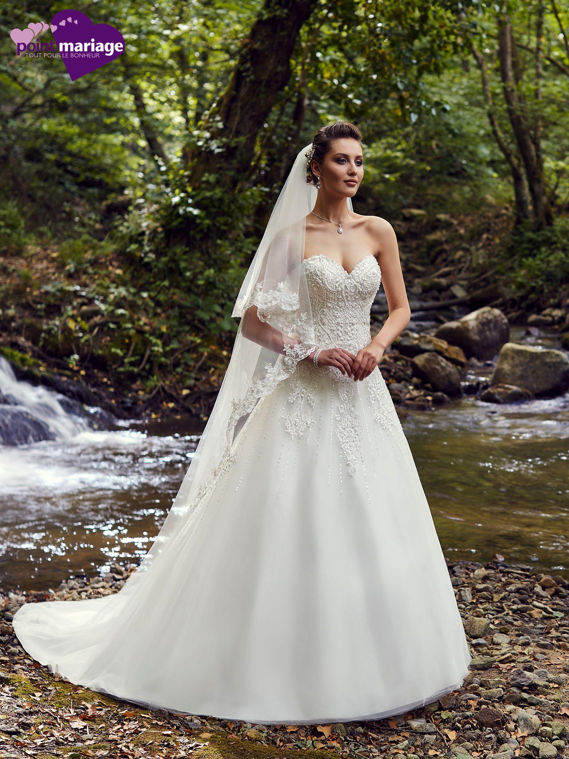 Robe de mariée Jakarta, robe de mariée bustier