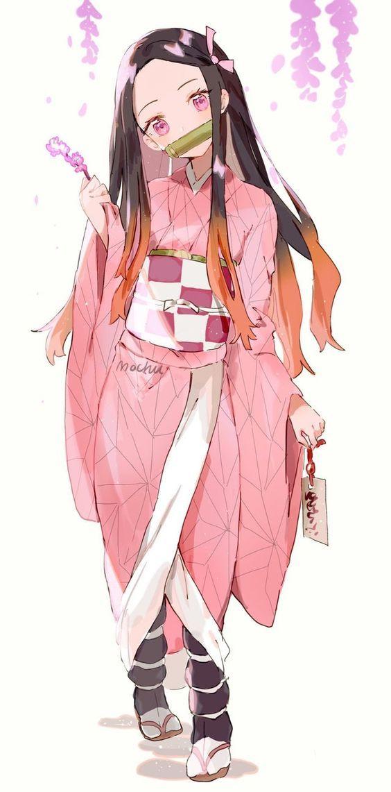 禰豆子イラストかわいい