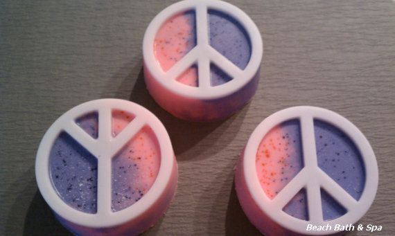 CLOSEOUT - Peace Soap - Perfect for Wedding or Party Favors - 3.5 ounces by BeachBathandSpa, $1.00  #TBEC  #TeamFEST  #soap