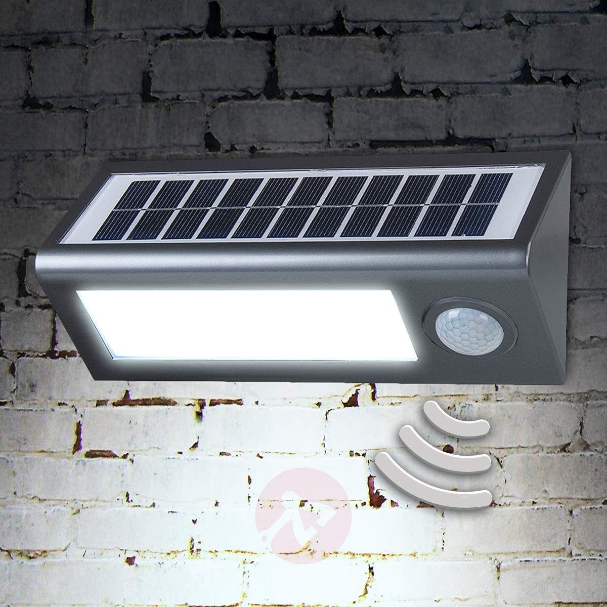 Solarna Lampa Zewnętrzna Okkea Czujnik Ruchu Lampy