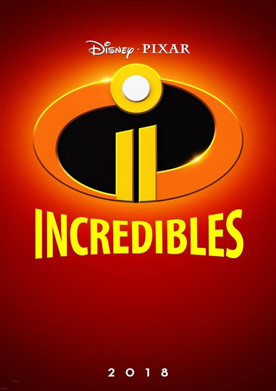 Incredibles 2 Movie Cover Poster Etsy The Incredibles Free Movies Online Full Movies Online Free