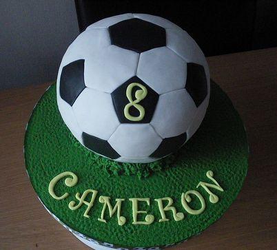 Football Cake Soccer Ball Aka Football Birthday Cake In Other - Football cakes for birthdays