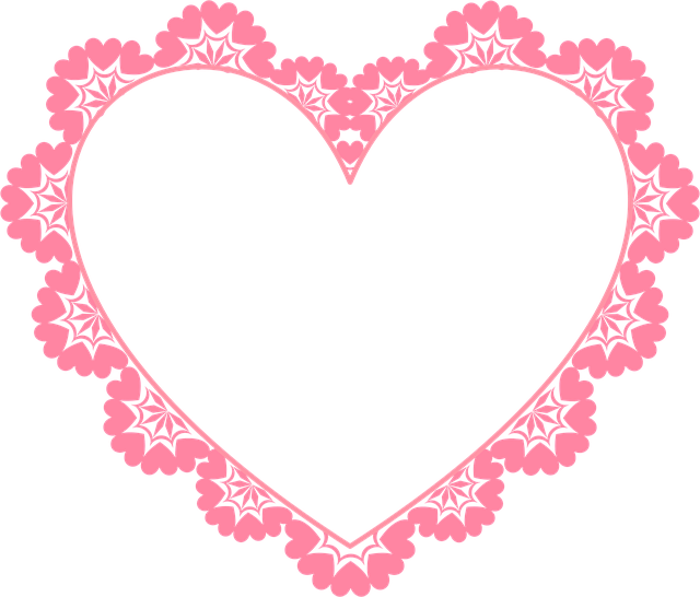 Free Frames Png Free Whimsical Hearts Frame Valentine S Day Graphic Transparent Png Valentines Frames Free Valentine Clip Art Valentines Printables