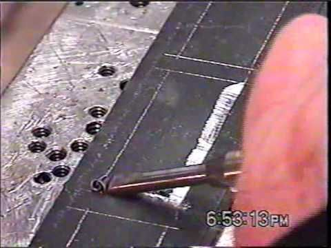 Bill Heisman How to inlay fine silver in steel, Part 1, very detailed explanations