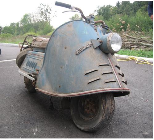 Kroboth motorscooter