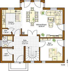 Hausbau ideen einfamilienhaus  RENSCH HAUS - Musterhaus Ulm | ---- | Pinterest | Musterhaus, Ulm ...