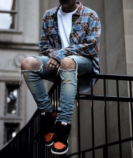47 ideas sneakers fashion men streetwear outfit grid #outfitgrid