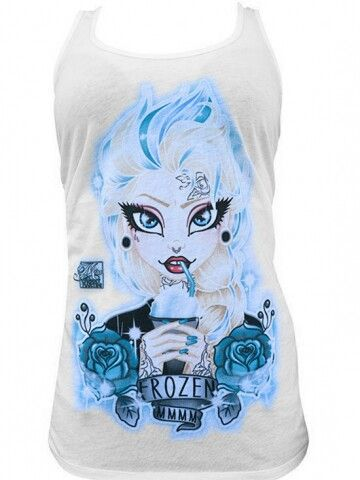 Elsa tanktops for adults