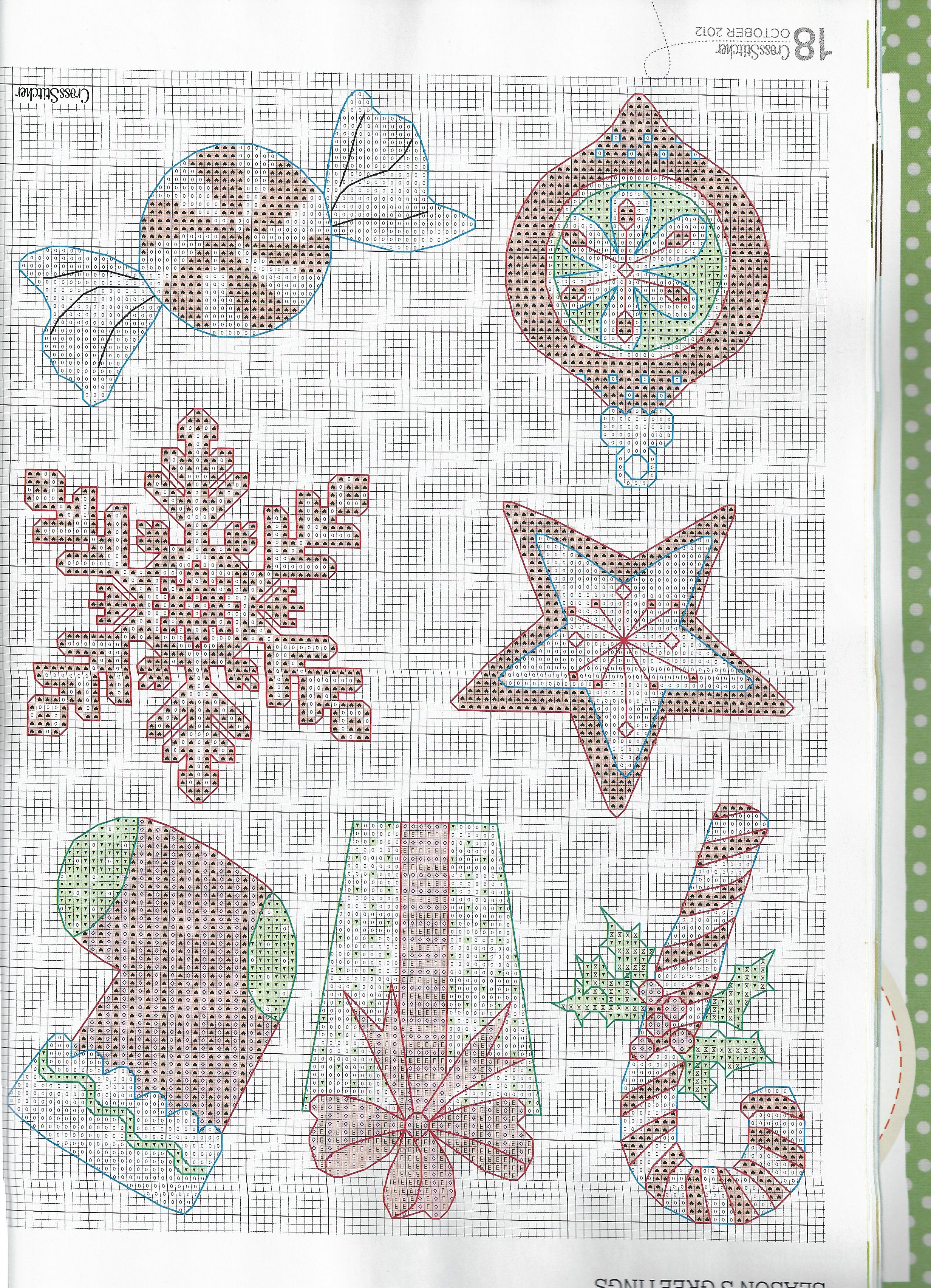 Cute Christmas Ornaments Make Either In Cross Stitch Or Plastic Canvas Plastic Canvas Ornaments Plastic Canvas Patterns Plastic Canvas Patterns Free
