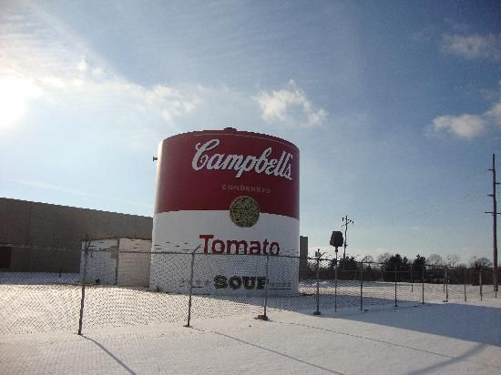 Campbell S Soup Supply Co Giant Tomato Soup Can Tomato Soup Canning Campbell Soup