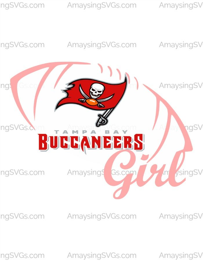 Show Your Team Spirit For The Tampa Bay Buccaneers With This Wonderful Svg Perfect For Tshirts Decals Cards And Tampa Bay Buccaneers Spirit Shirts Buccaneers