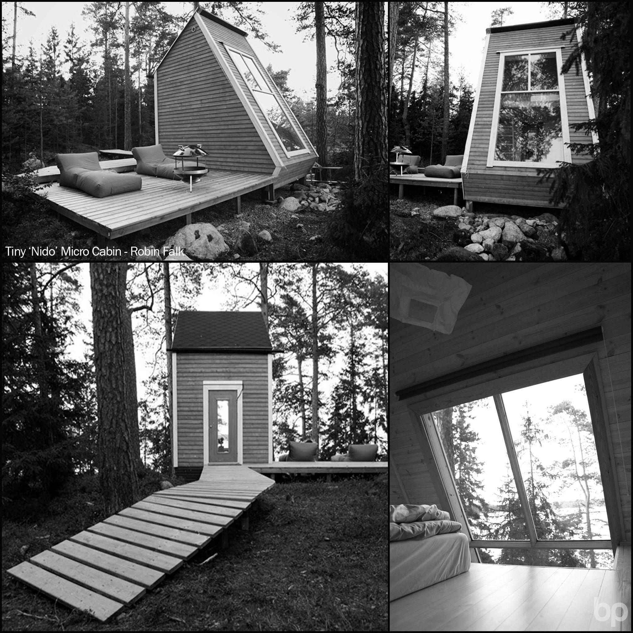 Tiny \'Nido\' Micro Cabin - Robin Falk.This little less than 9m2 ...