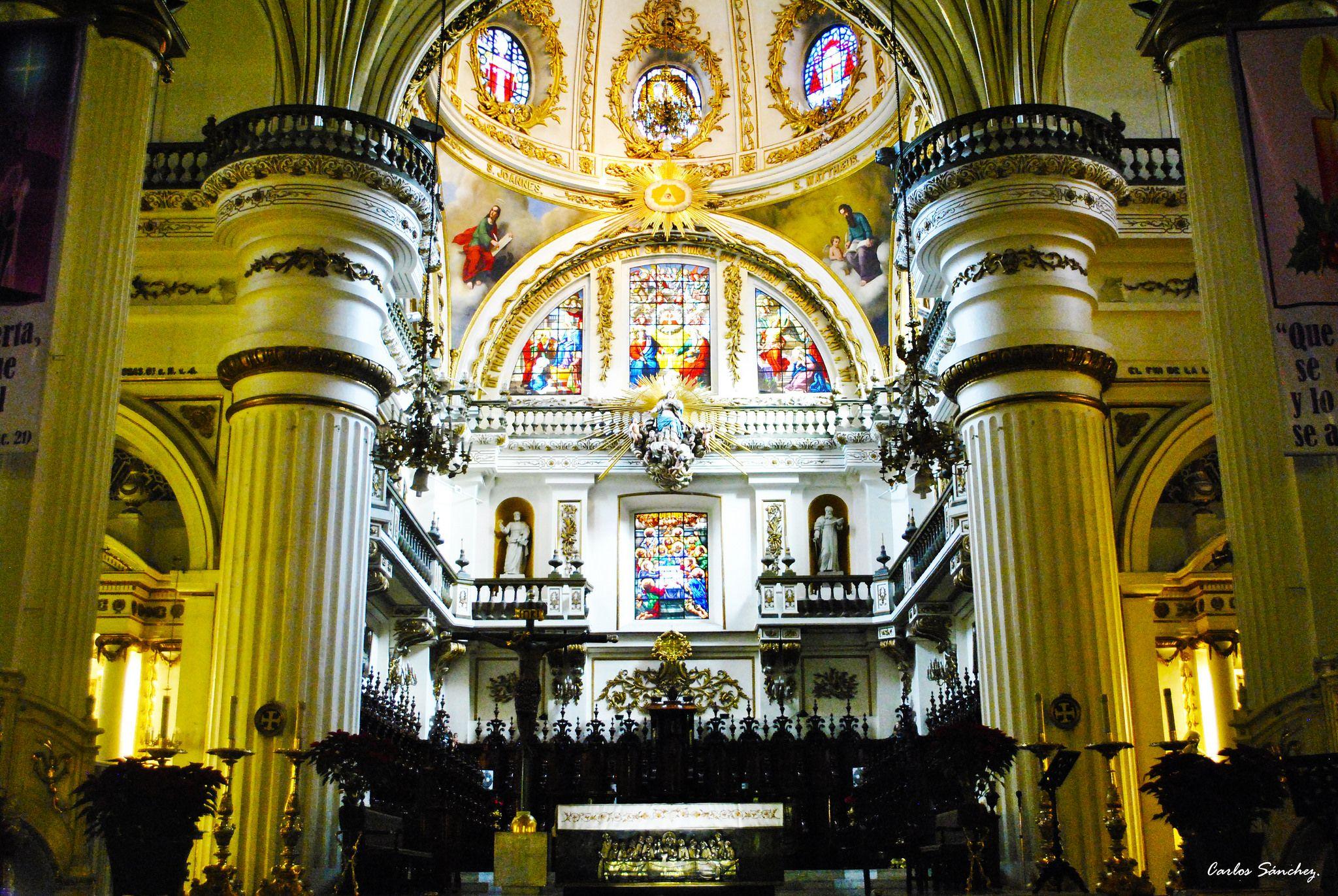https://flic.kr/p/CCAfxm | Interior de la catedral de Guadalajara. | Guadalajara, México.