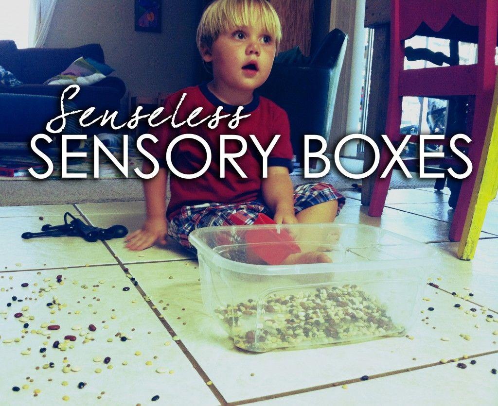 When Sensory Boxes Go Wrong So Funny
