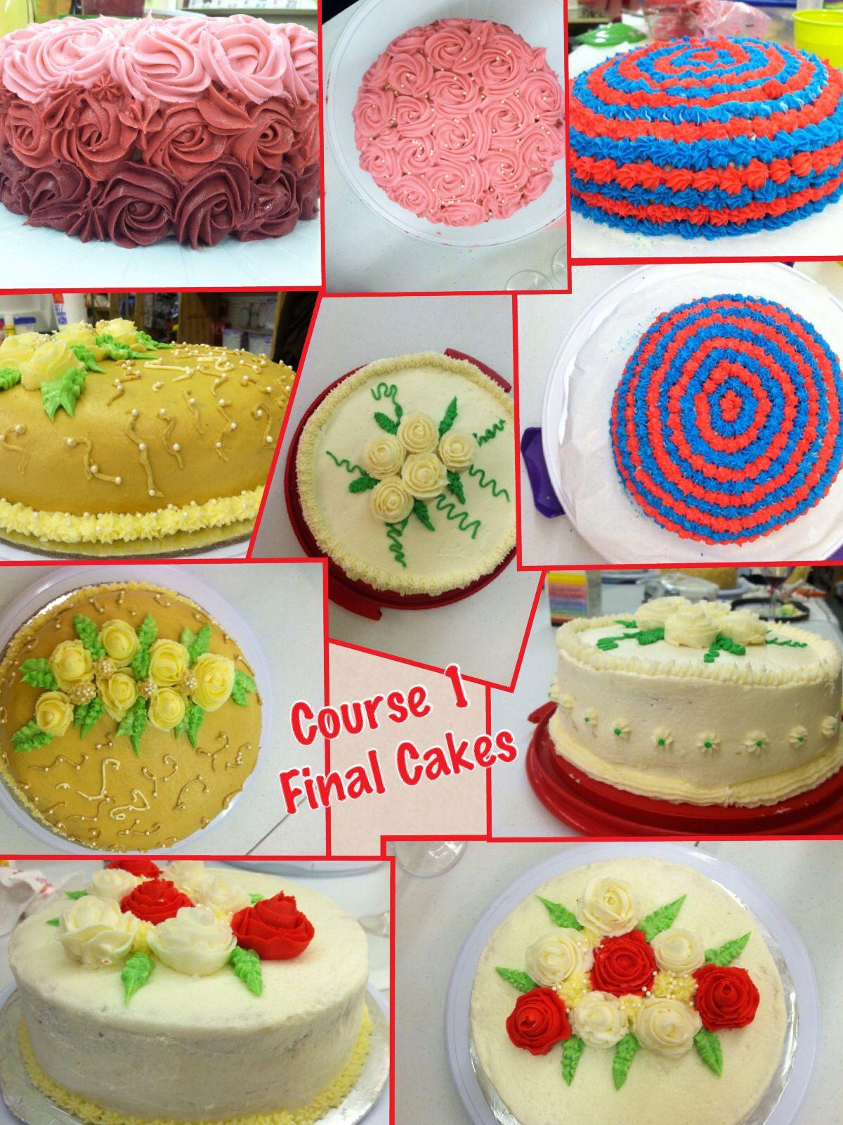 Wilton Course 1 at Gazebo Party Shop   Cake decorating ...