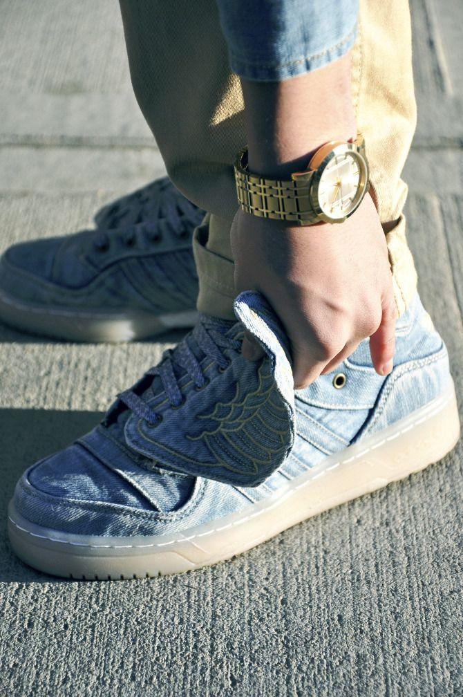 Adidas X Jeremy Scott Wings Shoes W Khaki S Jeremy Scott