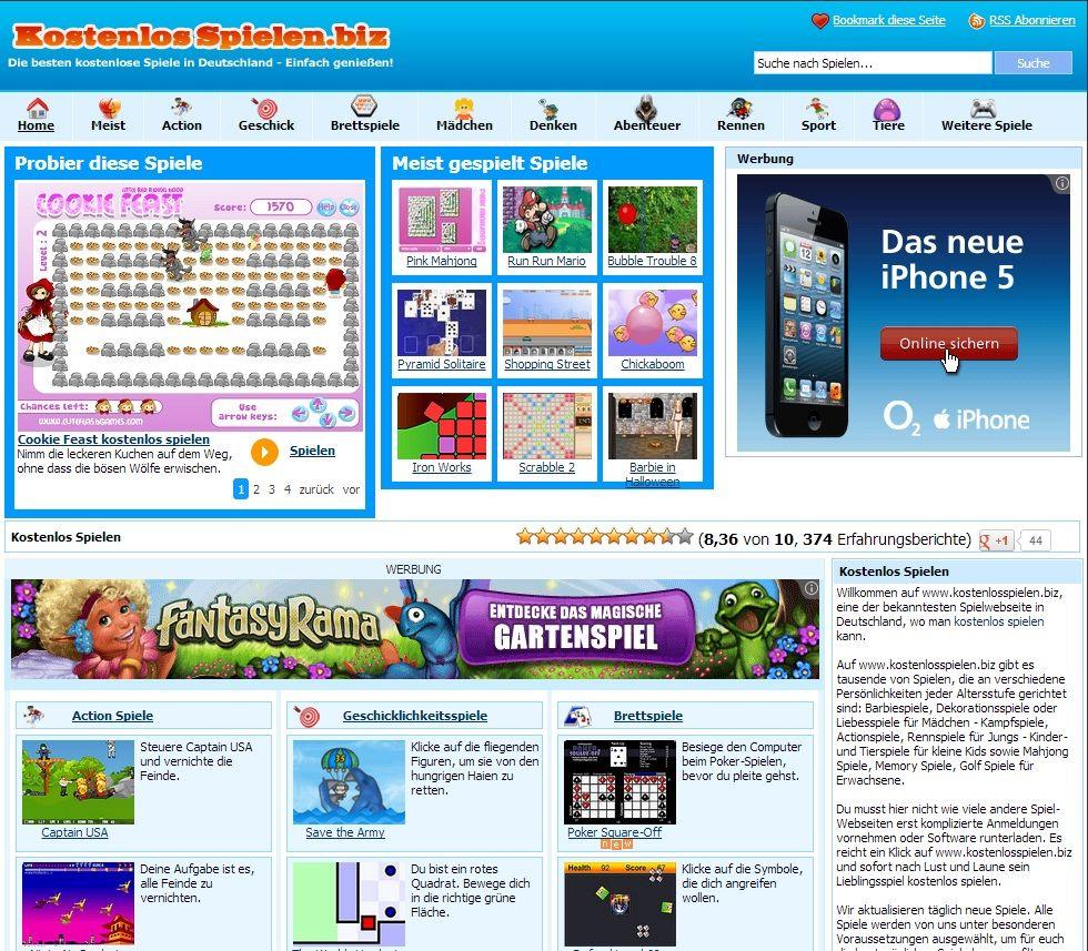 erwachsenen online spiele website