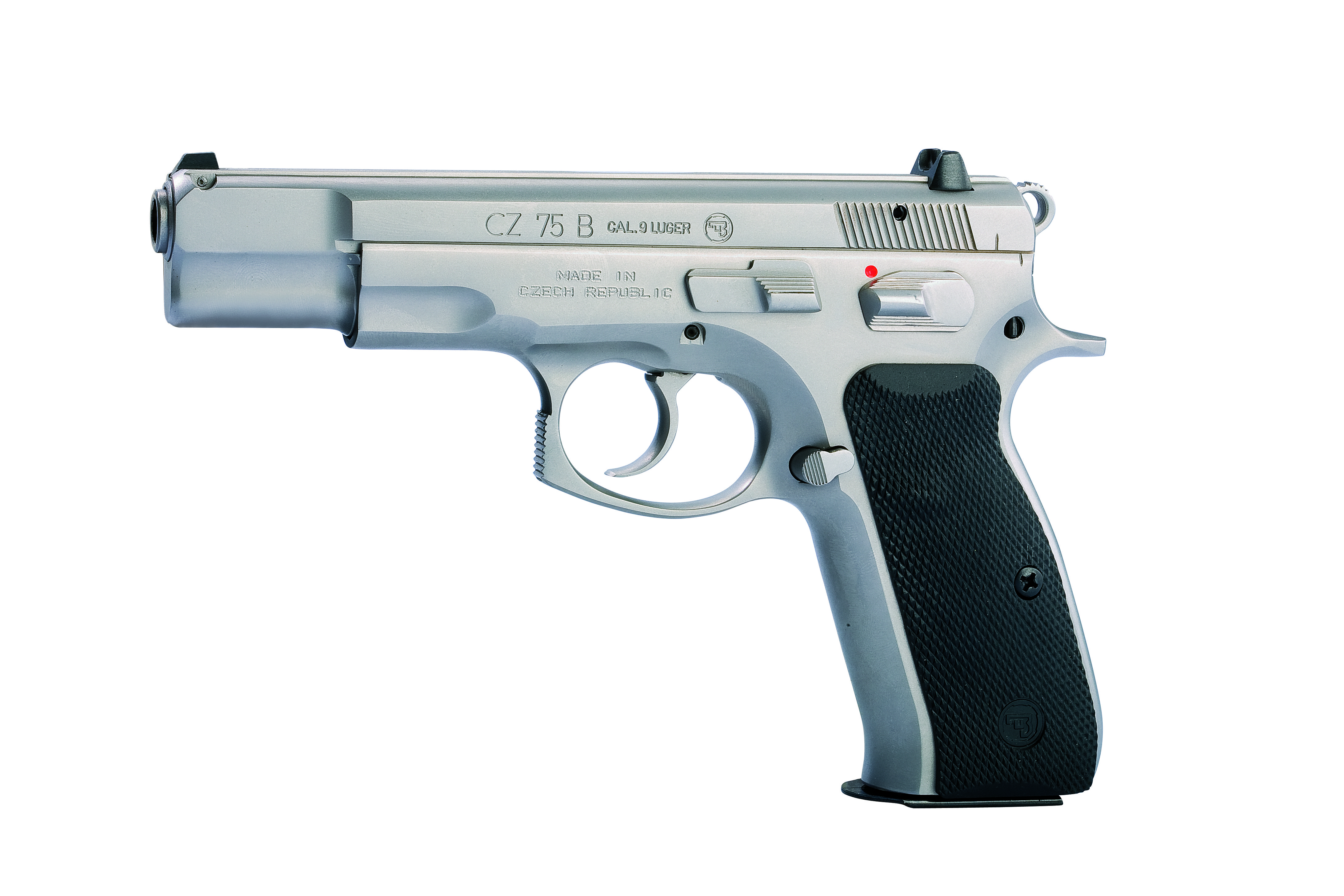 The CZ 75 B STAINLESS is based on the classical CZ 75 B made in high