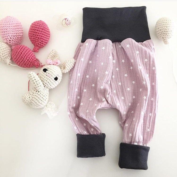 Freebie Pampersrocker Kostenloses Schnittmuster Baby Pumphose – DIY Nähanleitung – – Nelefees – Der Familienblog
