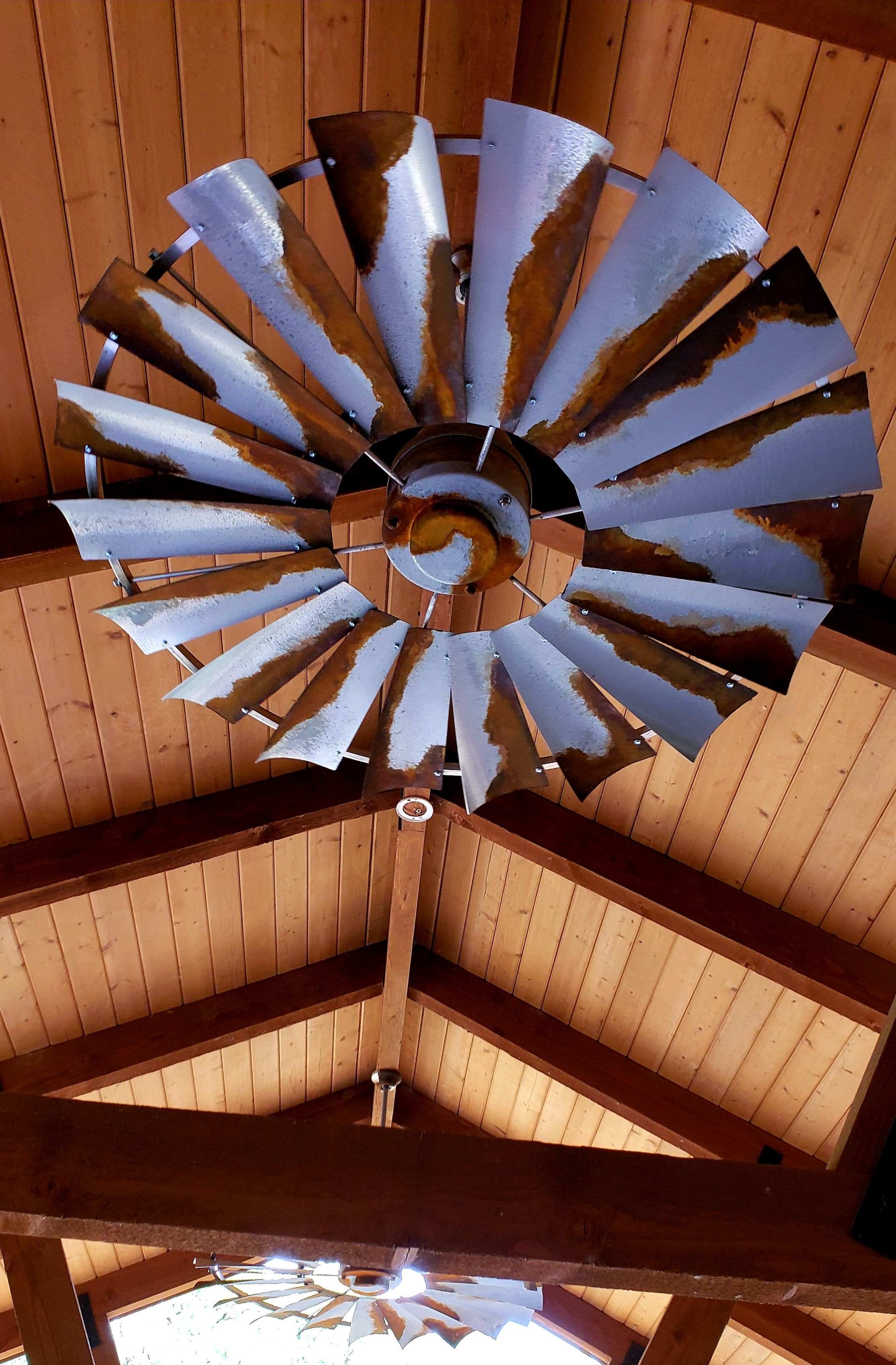 Client Photos | Windmill ceiling fan, Ceiling fan, Barn tin