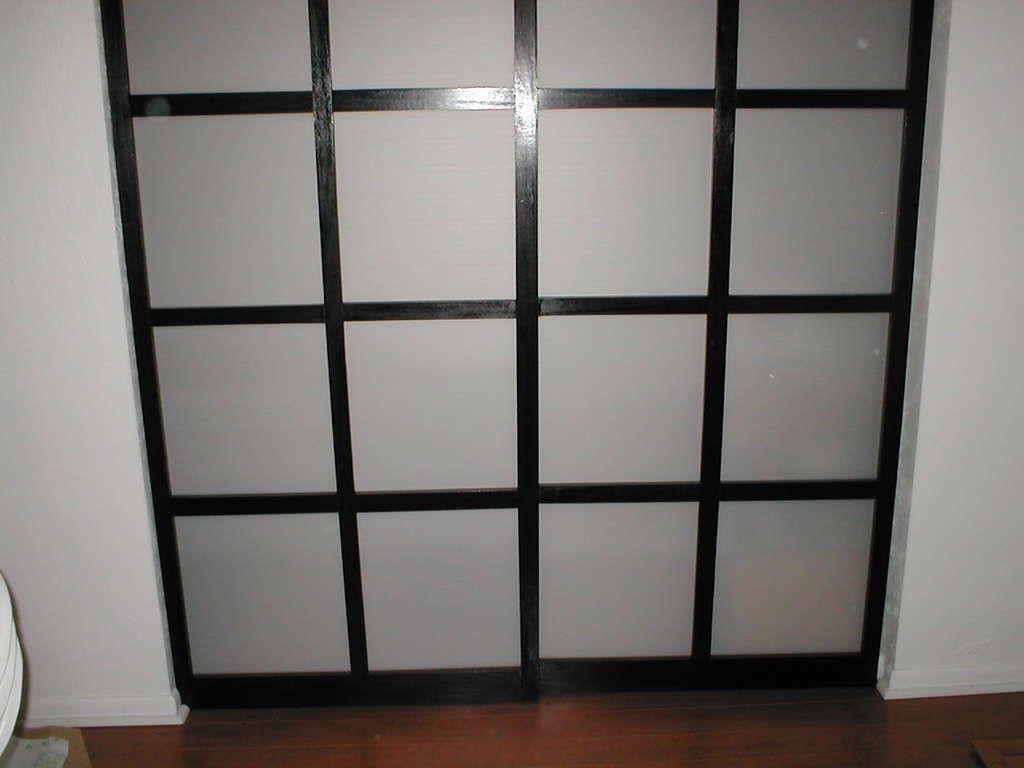 Shoji Style Sliding Closet Doors From Scratch Fall