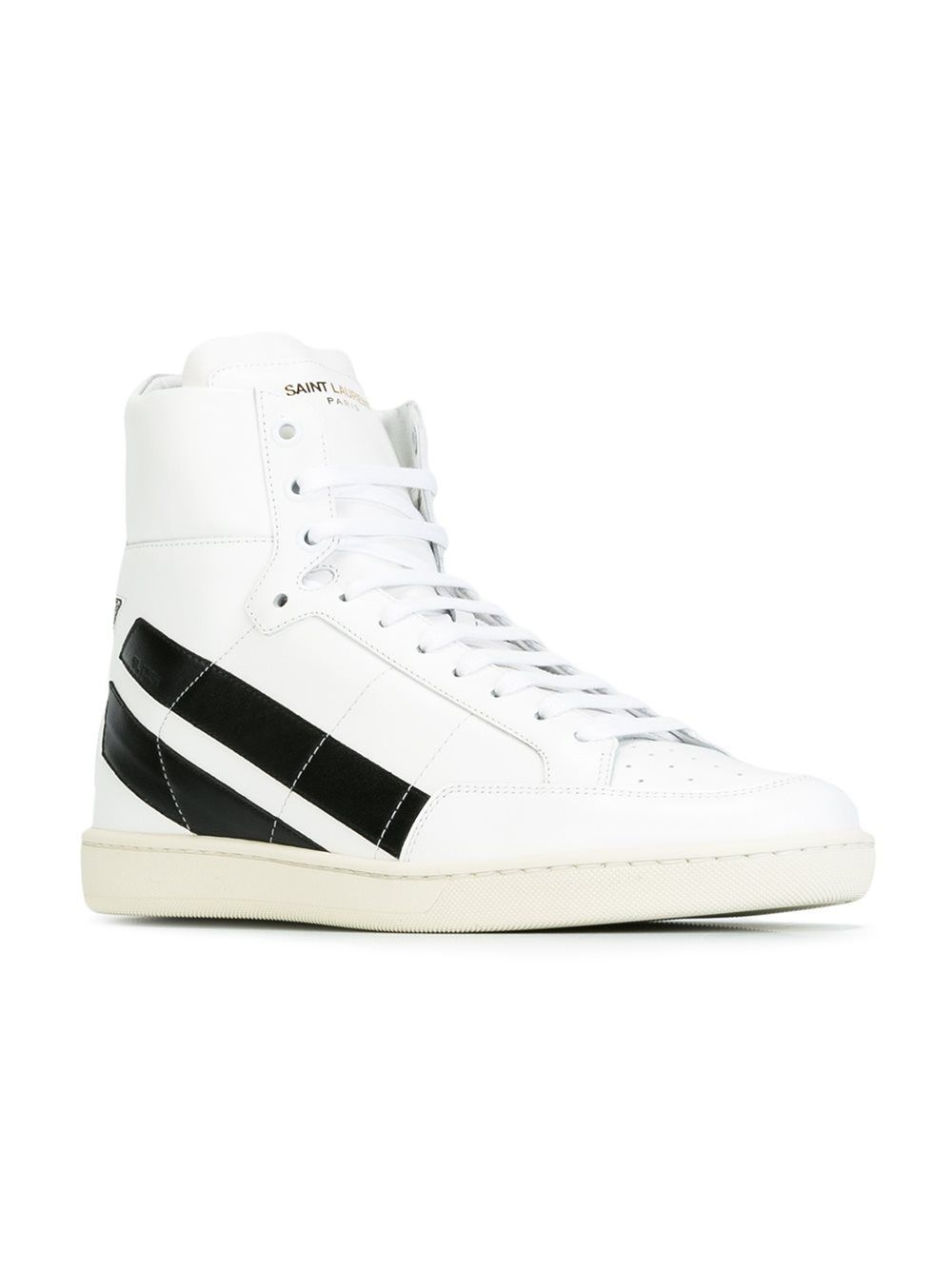 Special Sales Mens Saint Laurent court Classic Hi Tops Fashion Style