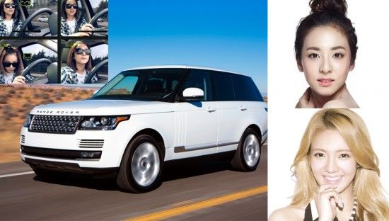 Female Idols And Their Sweet Rides Range Rover Range Rover Sport 2014 Best Compact Suv