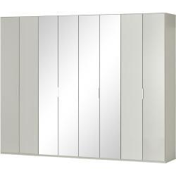 Photo of Levende kvalitet sammenleggbar dørskap Forum – grå – 300 cm – 236 cm – 58 cm – Skap> Garderobeskap> Revolving