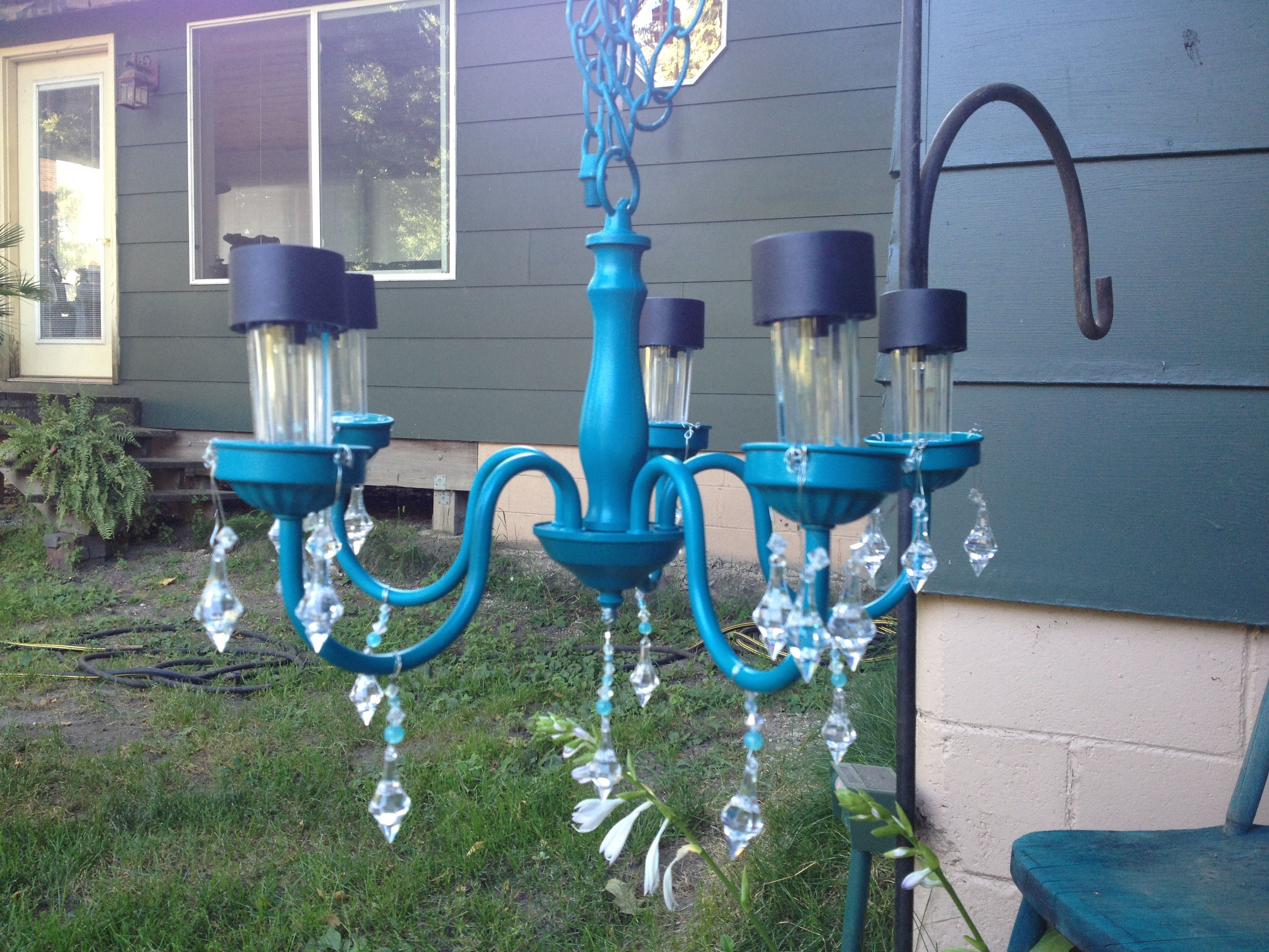 Solarlicht Garten Solar Light Chandelier Things I 39ve Done Pinterest