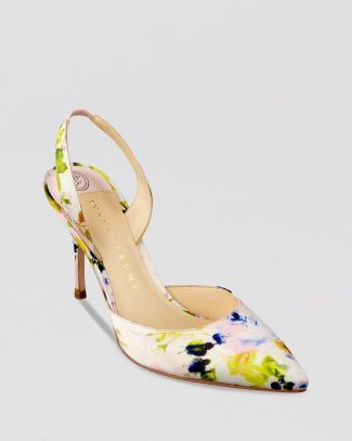 IVANKA TRUMP Pointed Toe Pumps - Delmar3 Halter Back High Heel  Bloomingdale's