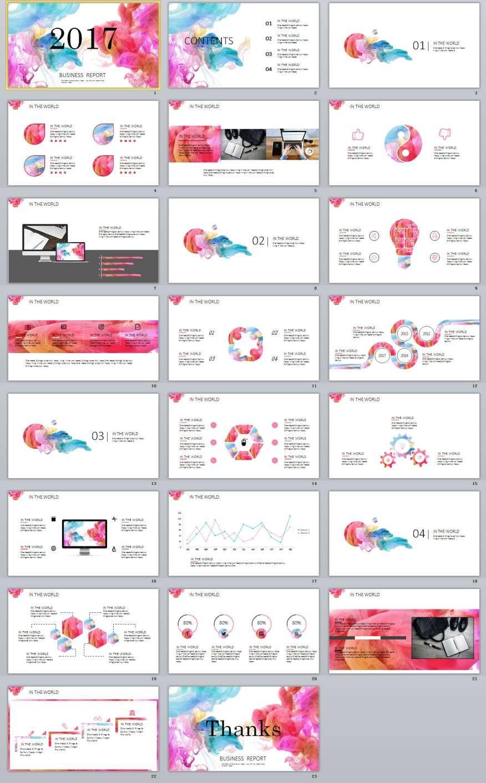 23 colorful business report powerpoint templates template 23 colorful business report powerpoint templates toneelgroepblik Choice Image