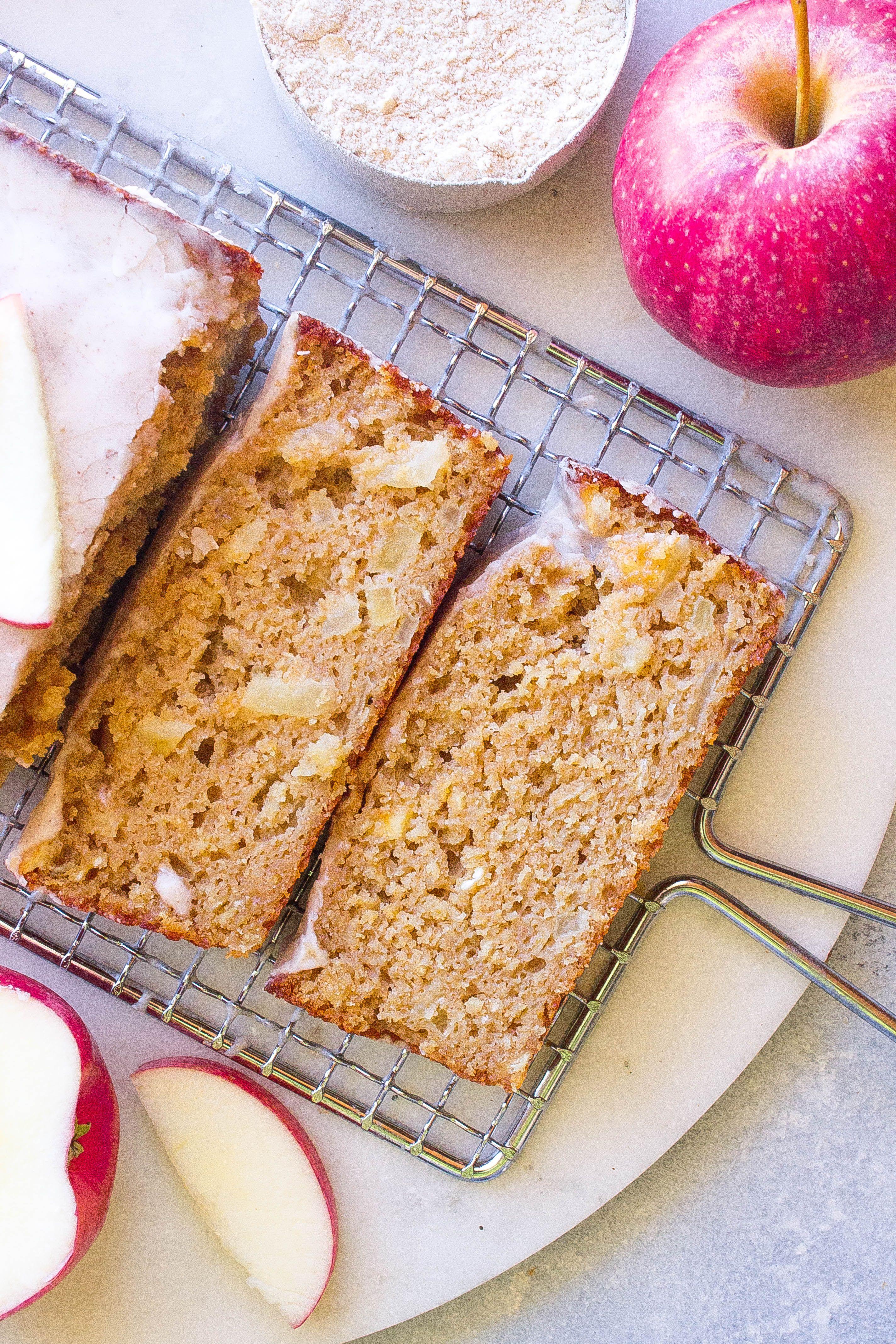 Apple cinnamon oat bread recipe cinnamon glaze recipe